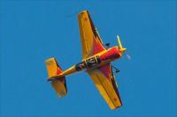 Высший пилотаж на спортивном самолете Як-54