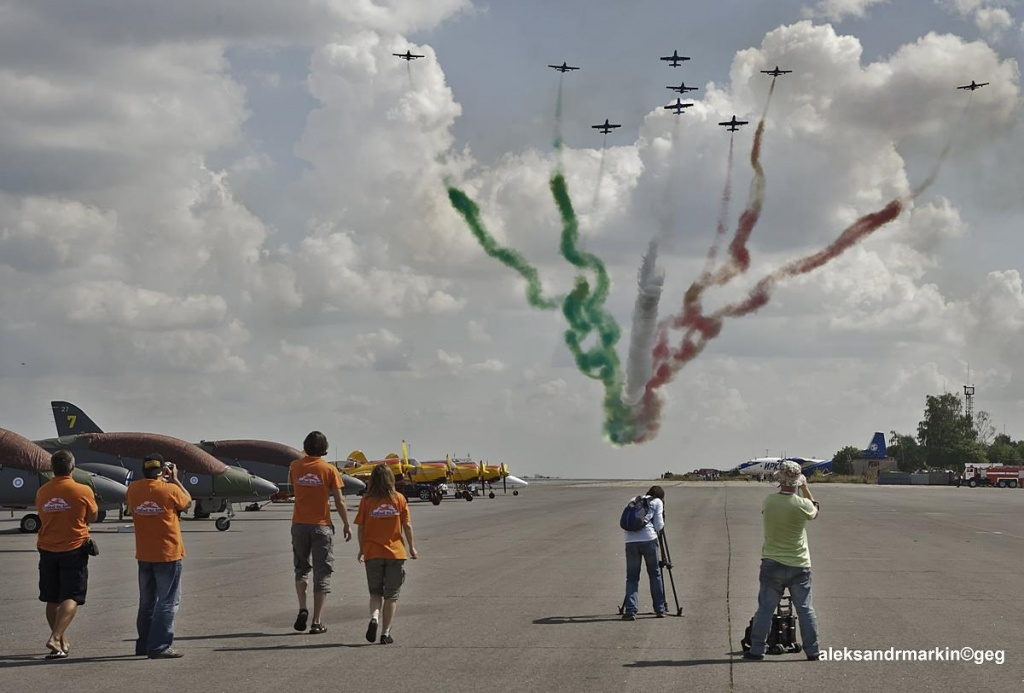 полет итальянской группы