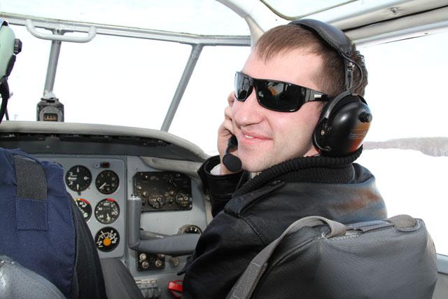 За штурвалом Як-18т первый раз!!!